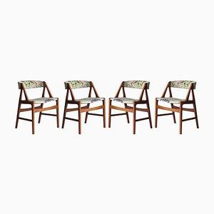 Modell 31 Chairs von Kai Kristiansen, 1960er, 4er Set