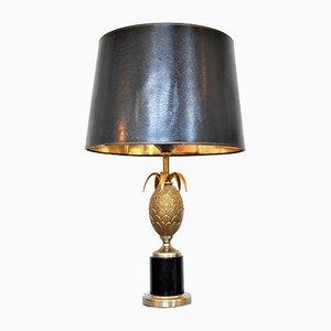 Vintage Hollywood Regency Pineapple Table Lamp
