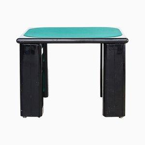 Tavolo da gioco di Pierluigi Molinari per Pozzi Milano, anni '70