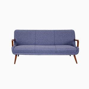 Mid-Century Teak 3-Sitzer Sofa, 1960er