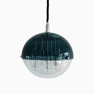Space Age Globe Pendant Lamp, 1960s