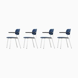 Model 1235 Cirrus Chairs by André Cordemeyer for Gispen, 1980s, Set of 4