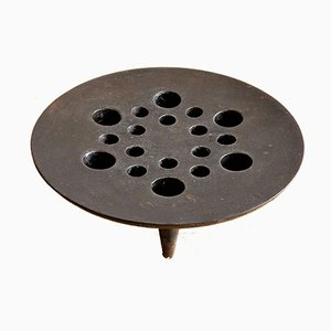 Mid-Century Modern Cast Iron Candleholder by Jens Quistgaard