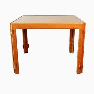 Mesa de centro plegable danesa vintage cuadrada