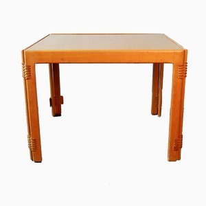 Vintage Danish Square Folding Coffee Table