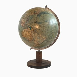 Large Vintage DDR Political Globe from Räth