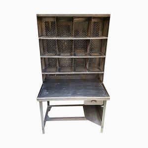 French Post Office Shelving Unit, 1950s