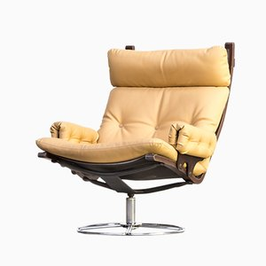 Swivel Chair by Bruno Mathsson for Dux, 1970s