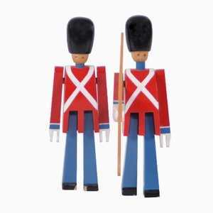 Tivoli Guard Sculptures by Kay Bojesen, 1950s, Set of 2
