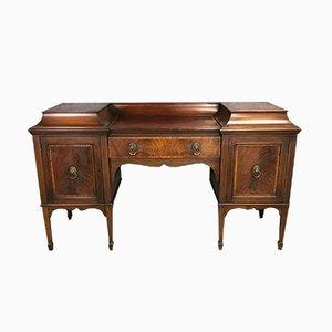 Antiker Edwardianischer Mahagoni Schreibtisch
