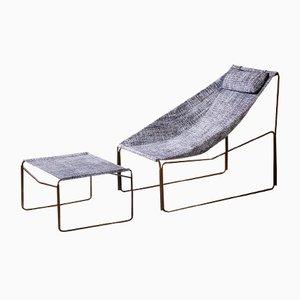 Chaise Longue Noah d'Intérieur et d'Extérieur par Kathrin Charlotte Bohr pour Jacobsroom