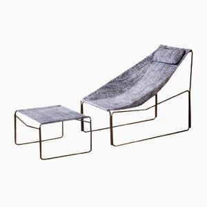 Chaise longue Noah da esterno ed interno smontabile di Kathrin Charlotte Bohr per Jacobsroom