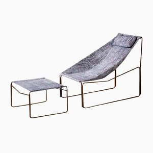 Noah Indoor & Outdoor, Dismountable Chaise Lounge by Kathrin Charlotte Bohr for Jacobsroom