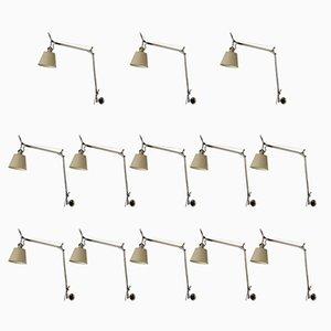 Italienische Tolomeo Wandlampen von Giancarlo Frassina & Michele De Lucchi für Artemide, 13er Set