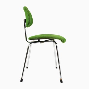 Vintage Green SE 68 Chair by Egon Eiermann for Wilde & Spieth