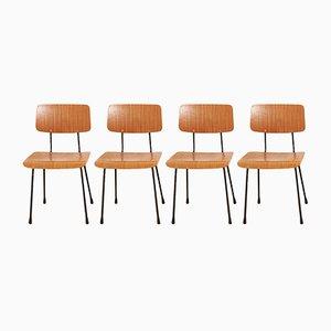 Modell 1262 Chairs von André Cordemeyer für Gispen, 1959, 4er Set