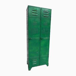 Vestiaire Vintage Industriel en Acier 2-Portes