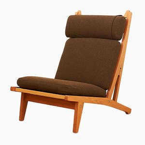 Model GE 375 Lounge Chair by Hans J. Wegner for Getama, 1969