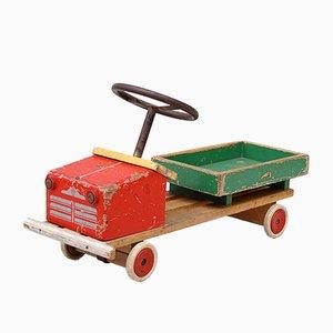 Autocarro giocattolo vintage di brio, anni '60