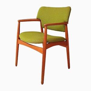 Modell 4205 Chair von Ejnar Larsen & Aksel Bender für Fritz Hansen, 1960er