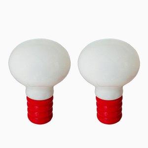 Lampes de Bureau Bulb par Ingo Maurer pour Design M, 1966, Set de 2