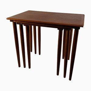 Scandinavian Teak Nesting Tables