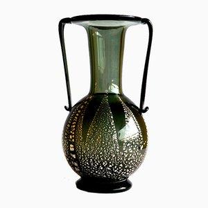 Vaso in vetro di Murano di Fratelli Toso, anni '30