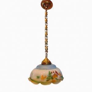 Jugendstil Deckenlampe