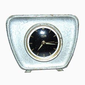 Horloge Réveil par Mauthe Colibretta, 1960s
