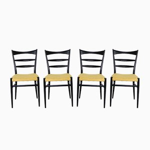 Danish Dining Chairs from Slagelse, 1960s, Set of 4