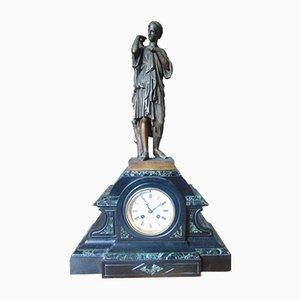Antike Marmor Uhr