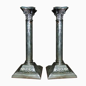 19th Century Candlesticks, Set of 2
