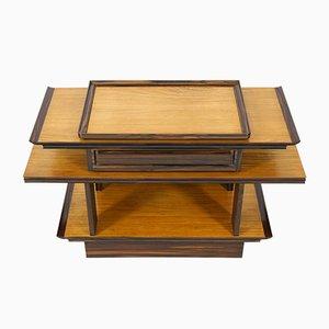 Console Table Art Déco en Sycomore & Erable par A.H. Zinsmeister pour Gebroeders Reens, 1930s