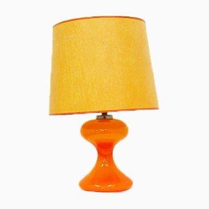 Orangefarbene Vintage ML1 Tischlampe von Ingo Maurer