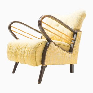 Sillón Club o silla de cóctel Mid-Century, años 50