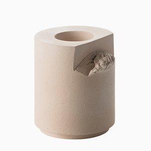 Torn & Arc Cut Vase in Rosa von Formafantasma für Bitossi