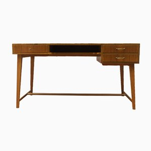 Walnut Desk by Georg Satink for Wk Möbel, 1950s