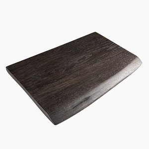 GF015 Cutting Board in Natural Black Oak by Bogumił Gala for Galaeria