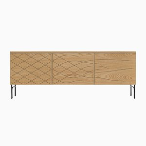 Couture Cabinet in Natural Ash by Fredrik Färg & Emma Marga Blanche for BD Barcelona