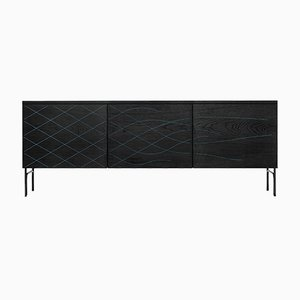 Couture Cabinet Stained Black by Fredrik Färg & Emma Marga Blanche for BD Barcelona
