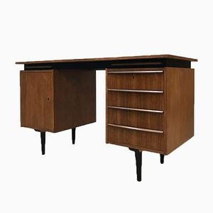 Dutch Teak Desk by Cees Braakman for Pastoe, 1960s