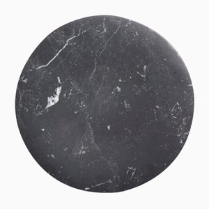 Plat Bramante Nero Marquina en Marbre Noir par Stories of Italy