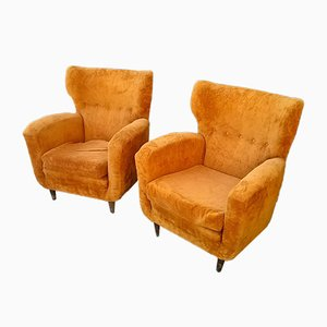 Vintage Sessel von Paolo Buffa, 2er Set