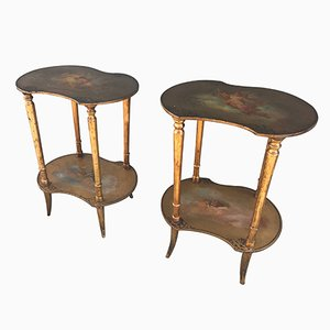 Tables Consoles Vintage, France, Set de 2