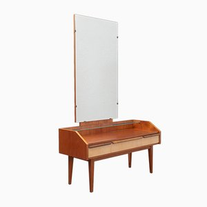 Bicoloured Mirror Cabinet, 1950s