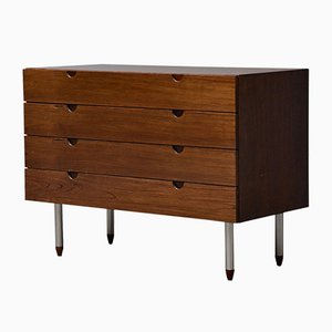 Vintage Mahogany Chest of Drawers from Bramin