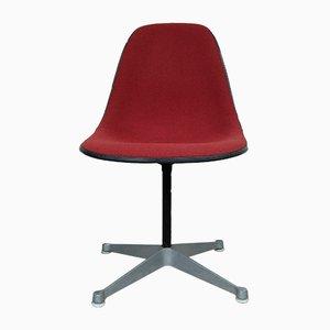 Chaise d'Appoint PSC-1 Vintage avec Base Pivotante par Charles et Ray Eames pour Herman Miller