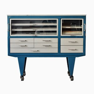 French Industrial Dentist's Sideboard, 1970s