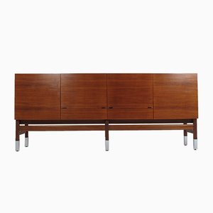 Vintage Rosewood Sideboard by Robert Debiève for Huchers Minvielle