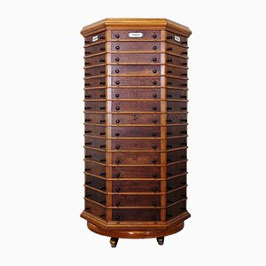 Apothecary Drawer Cabinet from Carl August Schwarz, 1920s
